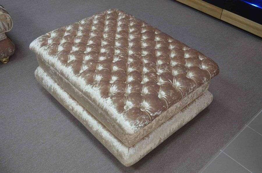 bellinimebel - фото пуфа приставного в комплект мягкой мебели