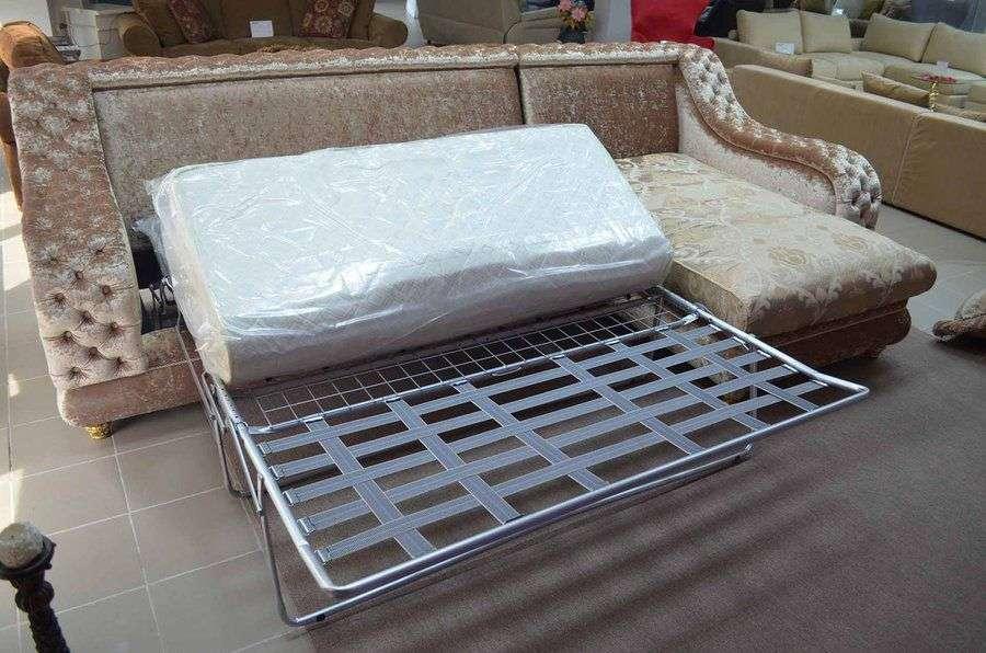 как раскладывается место для отдыха в диване Амадей (Беллини)