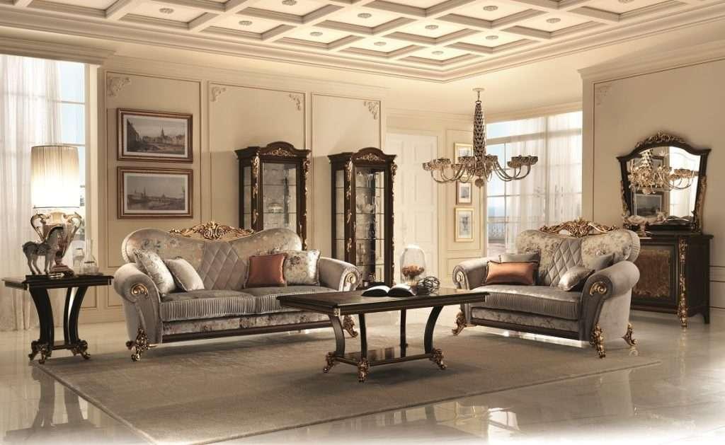 Фото диванов в гостиную Sinfonia фабрики Arredo Classic