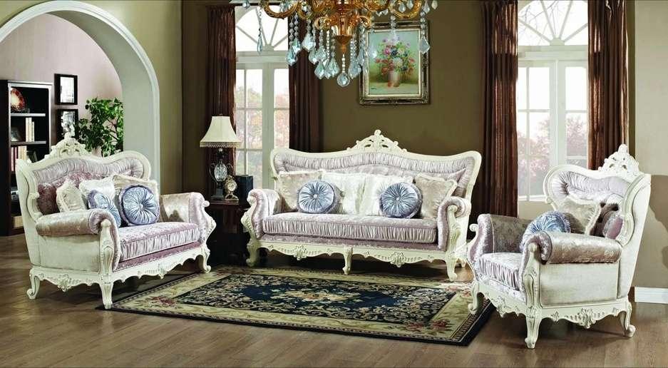 Идальго - комплект мягкой мебели в стиле барокко. Фото и цены