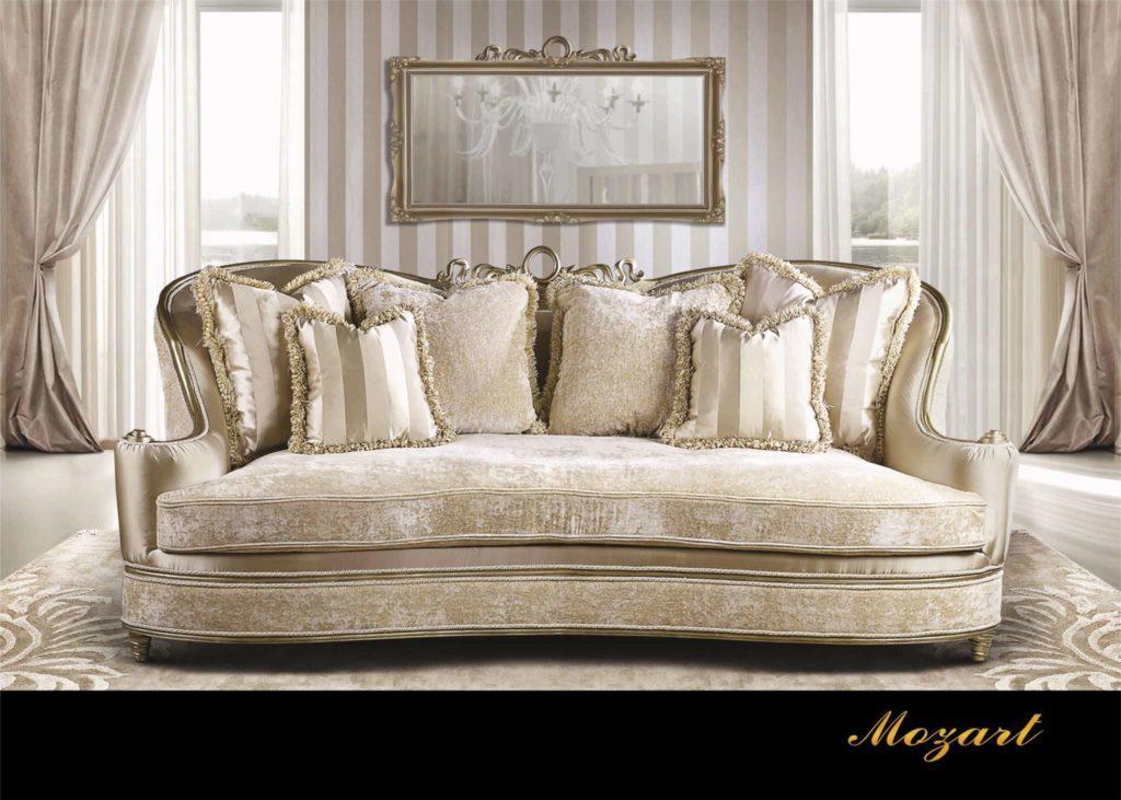 Диваны Моцарт в дворцовом стиле, купить в Киеве. Мебель In Style