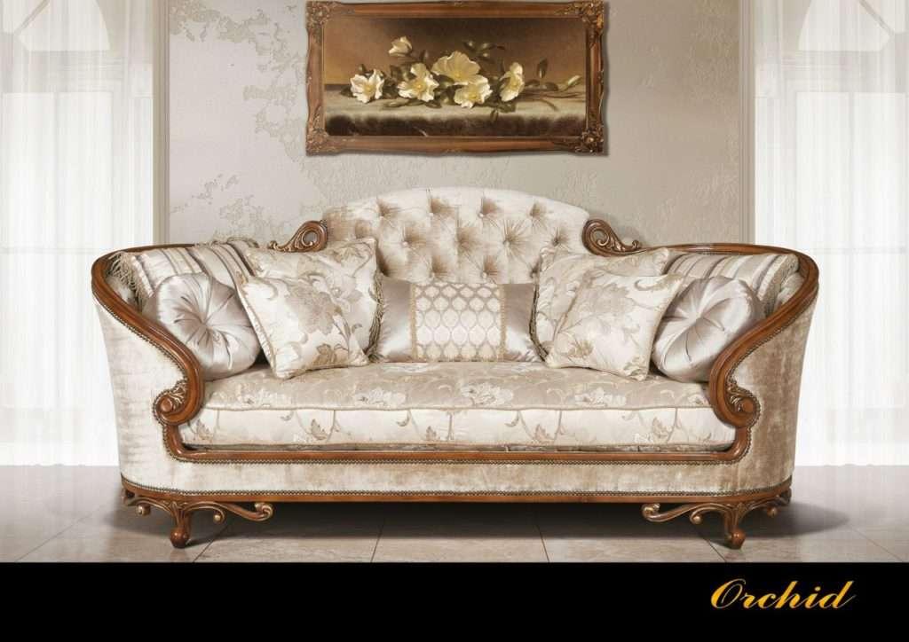 Выставочный образец мягкого дивана Орхидея (Эпоха стиля, США)
