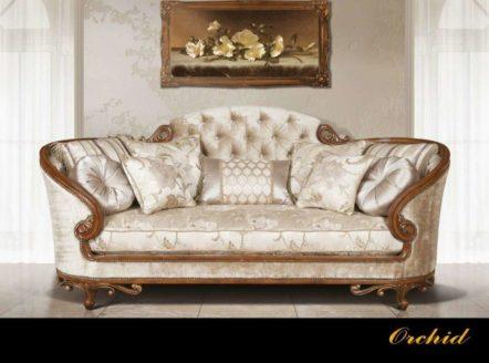 """Диван Эпоха Стиля """"Орхидея"""". Мебель InStyle Group USA во Львове"""