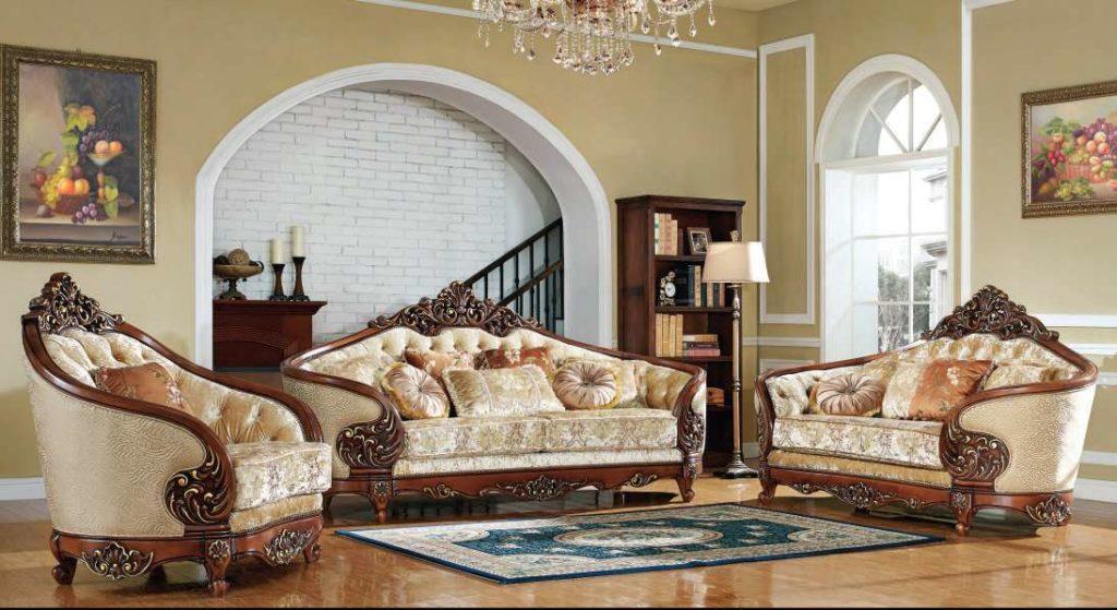 Орфей - диван в стиле барокко, фото и цены в Украине. Мебель Беллини