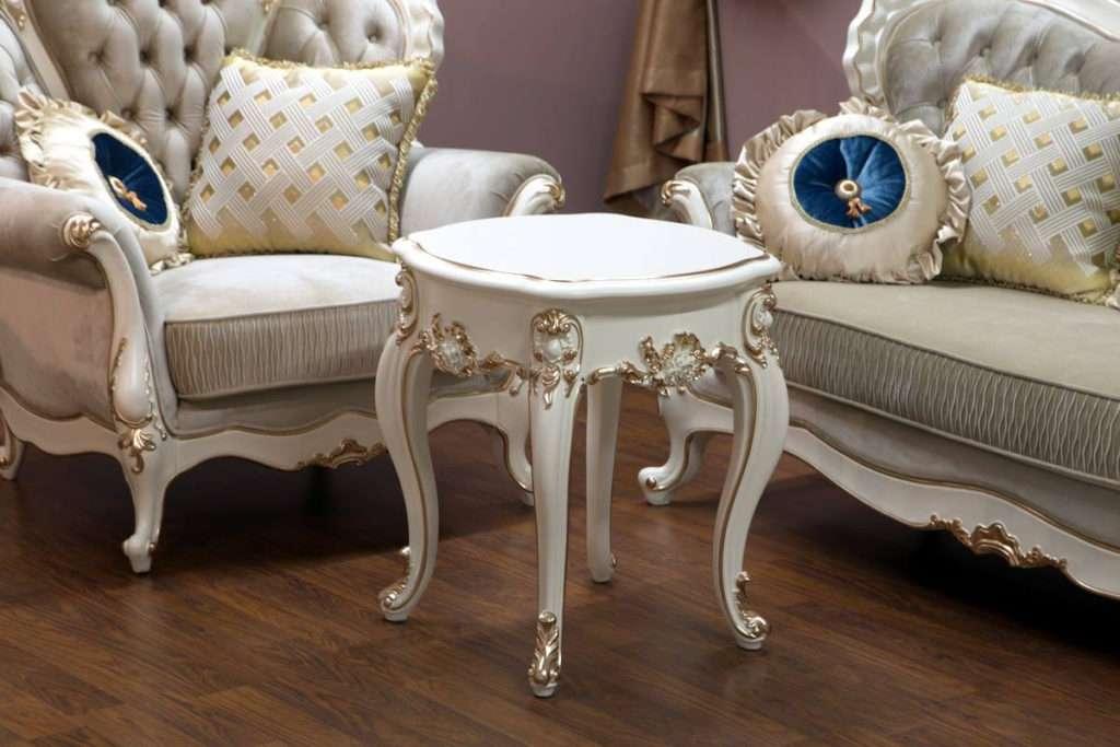 Приставной столик Пале станет отличным дополнением к мягкой мебели