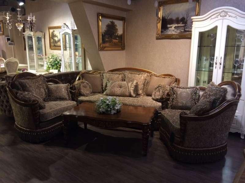 Мягкий классический диван Венеция, 6 элемент, Одесса