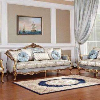 Дорогая мягкая мебель Камелот в цвете золотой антик. Италия