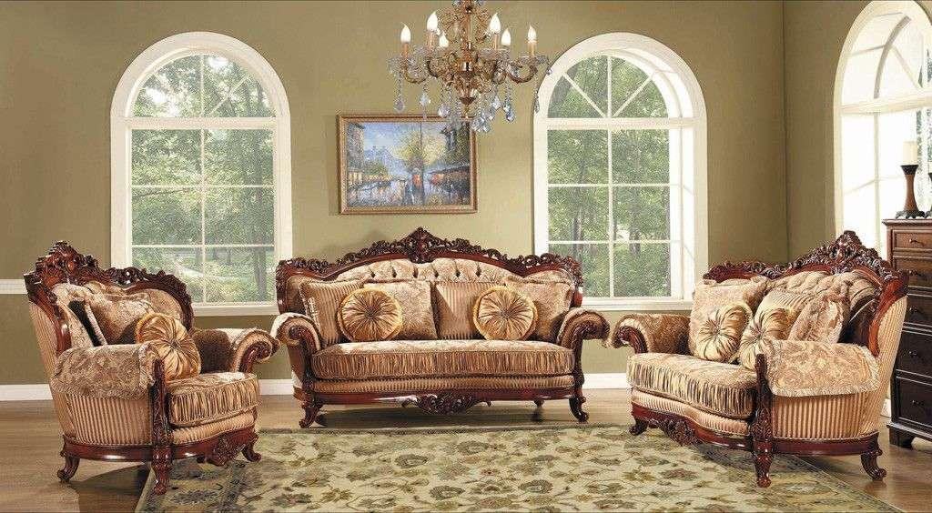 Классический мягкий мебельный гарнитур Миллорд