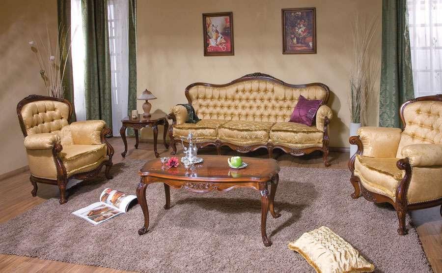 Румынский диван и кресла коллекция Регалис