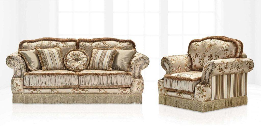 Элитный диван Florence в гостиную из массива сосны от Vito Palazzo