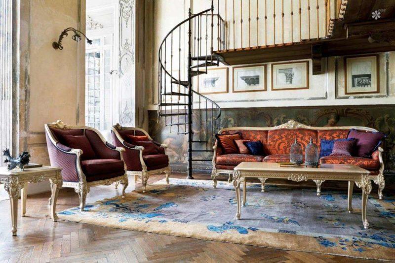 Купить Диван Ares в классическом стиле из Италии от фабрики Silik