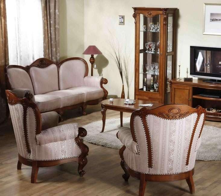 Мебель из массива в деревенском стиле Элис.