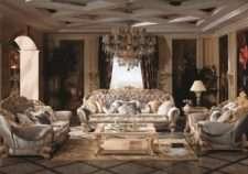классический диван Белла Рива Bella RIVA в стиле венецианское барокко