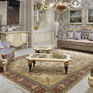 Классический диван с низкой спинкой Bovary от Turri