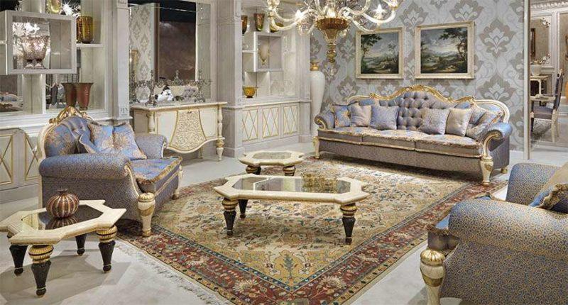 Купить классический диван с низкой спинкой Bovary от Turri в Киеве