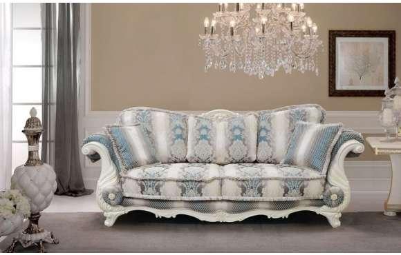 Белый классический диван Себастьян ( Sebastian)