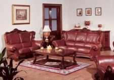 Мягкая мебель Carpenter 208(темный) в стиле Барокко