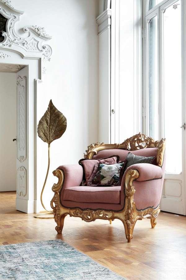 Кресло Ermes из массива от Silik