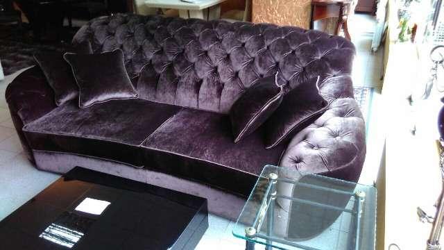Красивый элитный бордовый диван Мантеласси