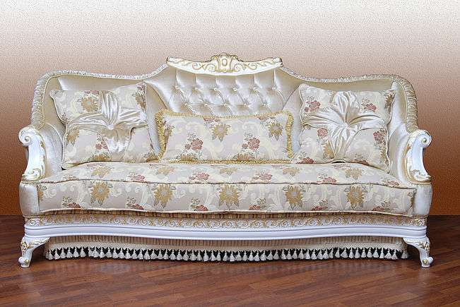 Белый диван Карат