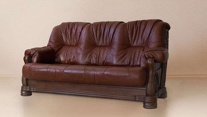 Кожаный диван Амстердам от Shalennyy&Co