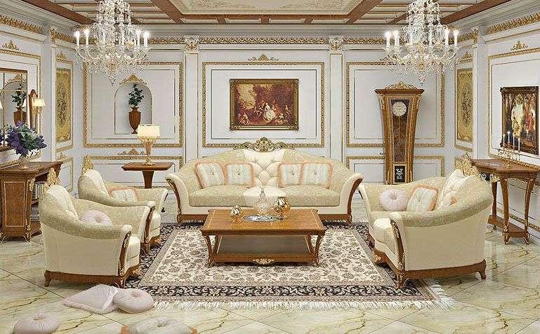 Мягкая мебель в цвете слоновой кости Signorini&Coco I Lungarni
