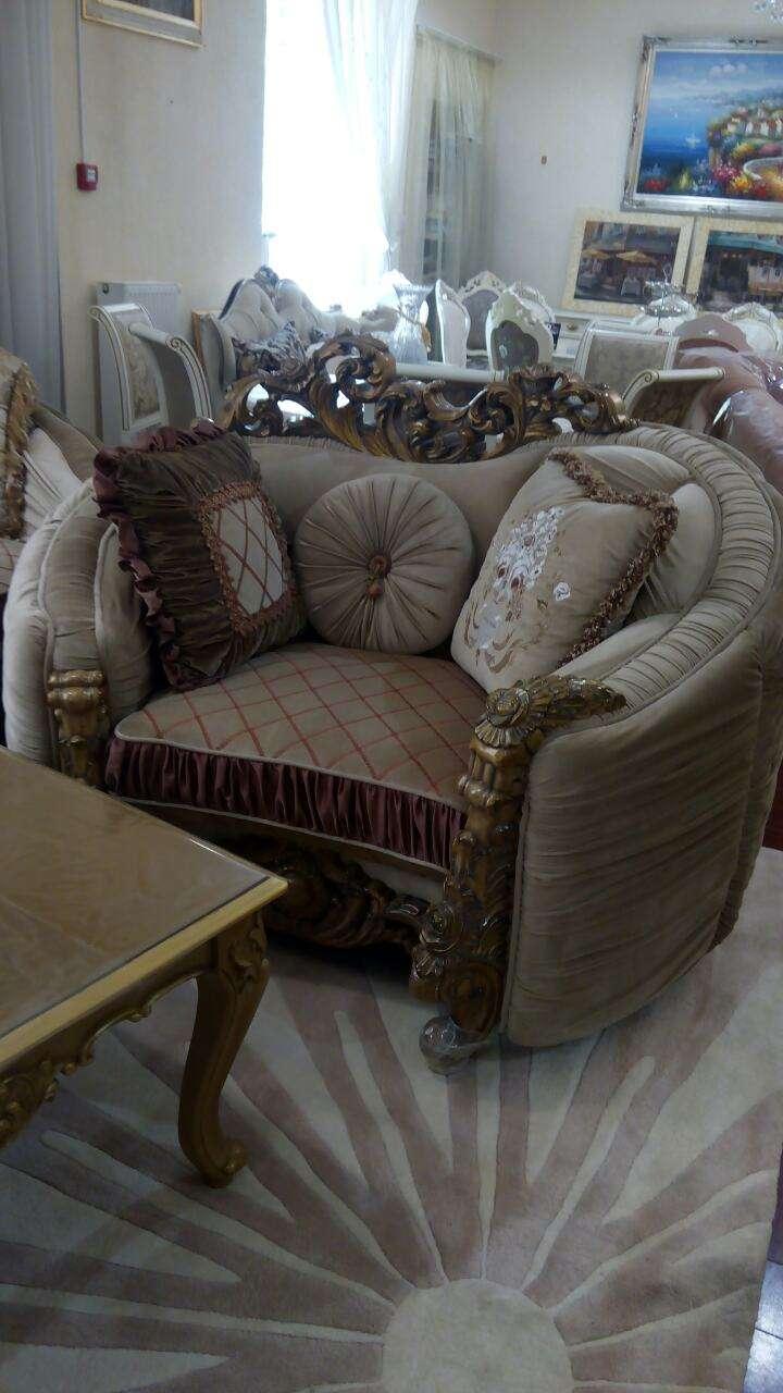 кресло радиальное в стиле барокко. Италия фабрика Bella Riva