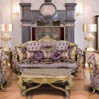 Элитный классический диван Селина в стиле Барокко. Империал