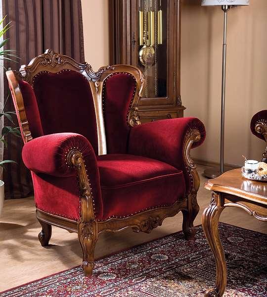 Кресло из румынского мягкого комплекта Роял.