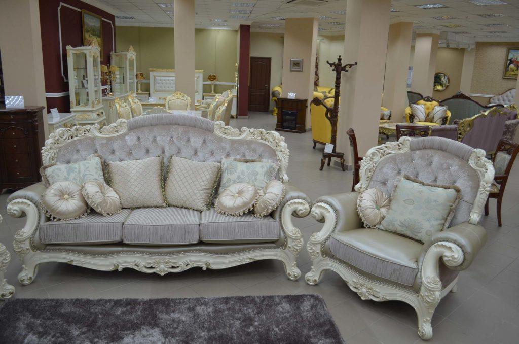 Мягкая мебель в стиле барокко Романо