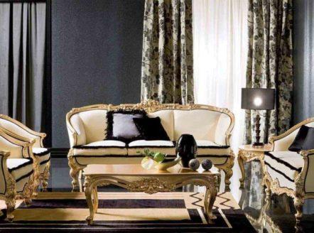 Купить диван Adone в классическом стиле на ножках в Киеве, Одессе.