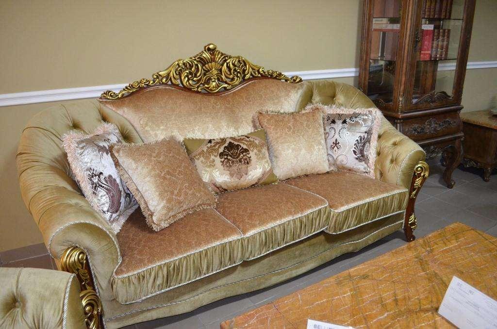 Техмесный раскладной диван Прометей