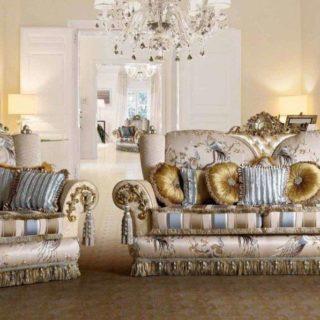 Королевский набор мягкой мебели Шанель, ALTA MODA