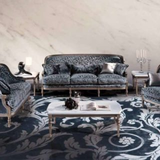 Классический диван с подушками Luigi XVI Marino
