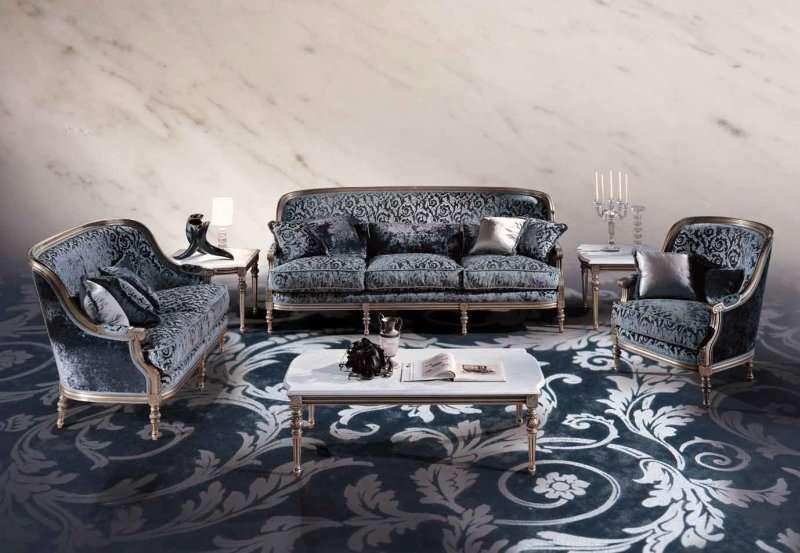 Классический диван с подушками Luigi XVI Marino от Angelo Cappellini