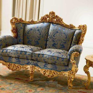 Классический диван Varie с высокой спинкой от Silik