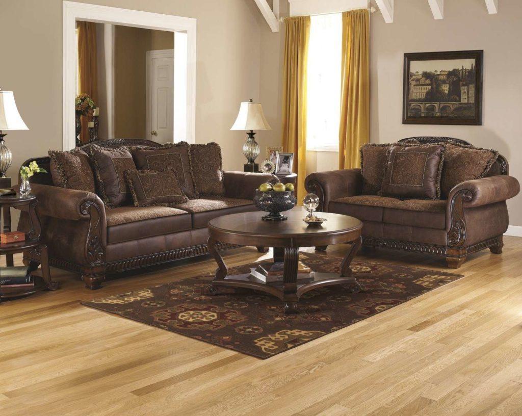 Классический кожаный диван 09690038 ASHLEY