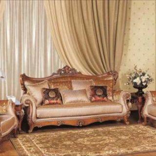 Резной диван с креслами Гермес. Беллини