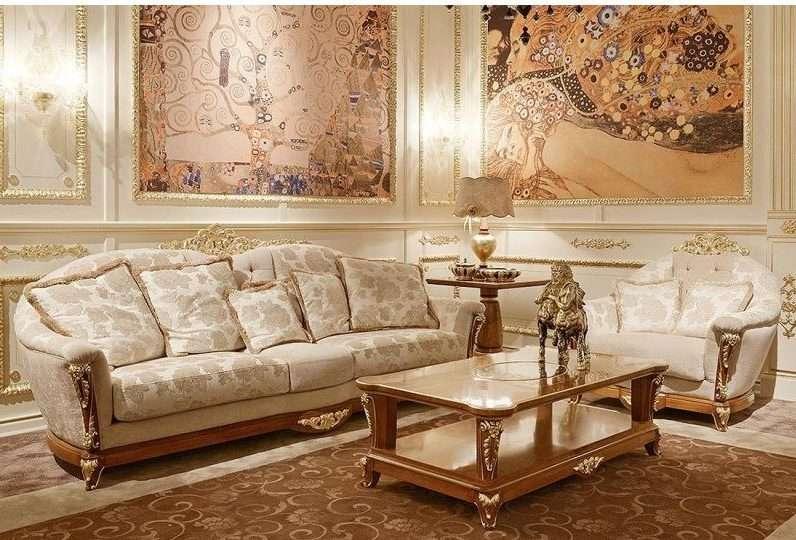 La Medicea -итальянский диван трехместный с креслом