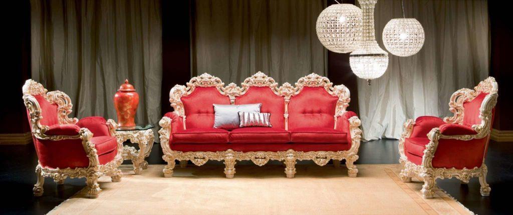 Элитный диван с креслом Orfeo (комплект)