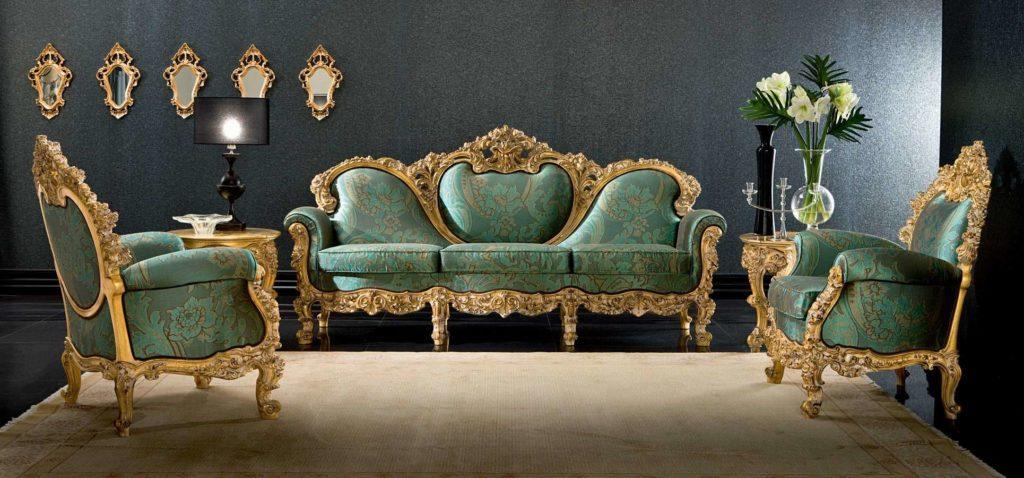 Королевский диван Plutone от фабрики Silik