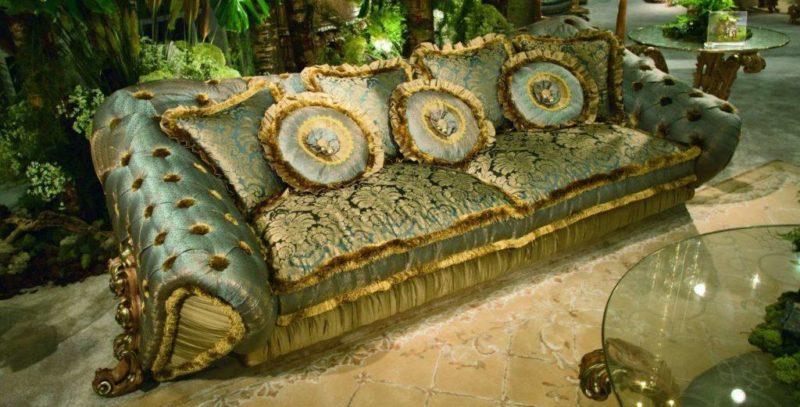 Мягкая мебель из Италии. Элитная коллекция Balbianello (Riva Mobili)