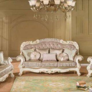 Белый диван с креслами премиум-класса Романо, Беллини