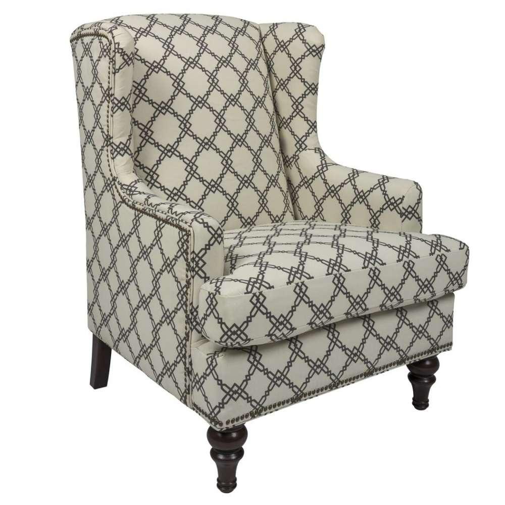 Креативное кресло в мебельный гарнитур элит класса Эшли
