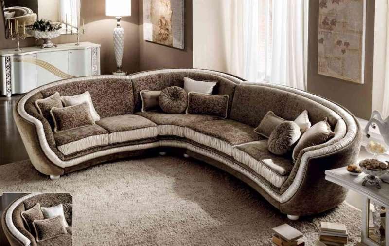 Дорогой диван угловой Миро от фабрики аредо классик