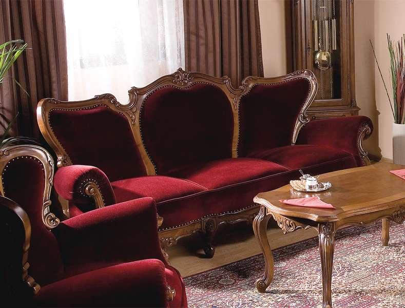Классический румынский диван из комплекта мебели ROYAL.