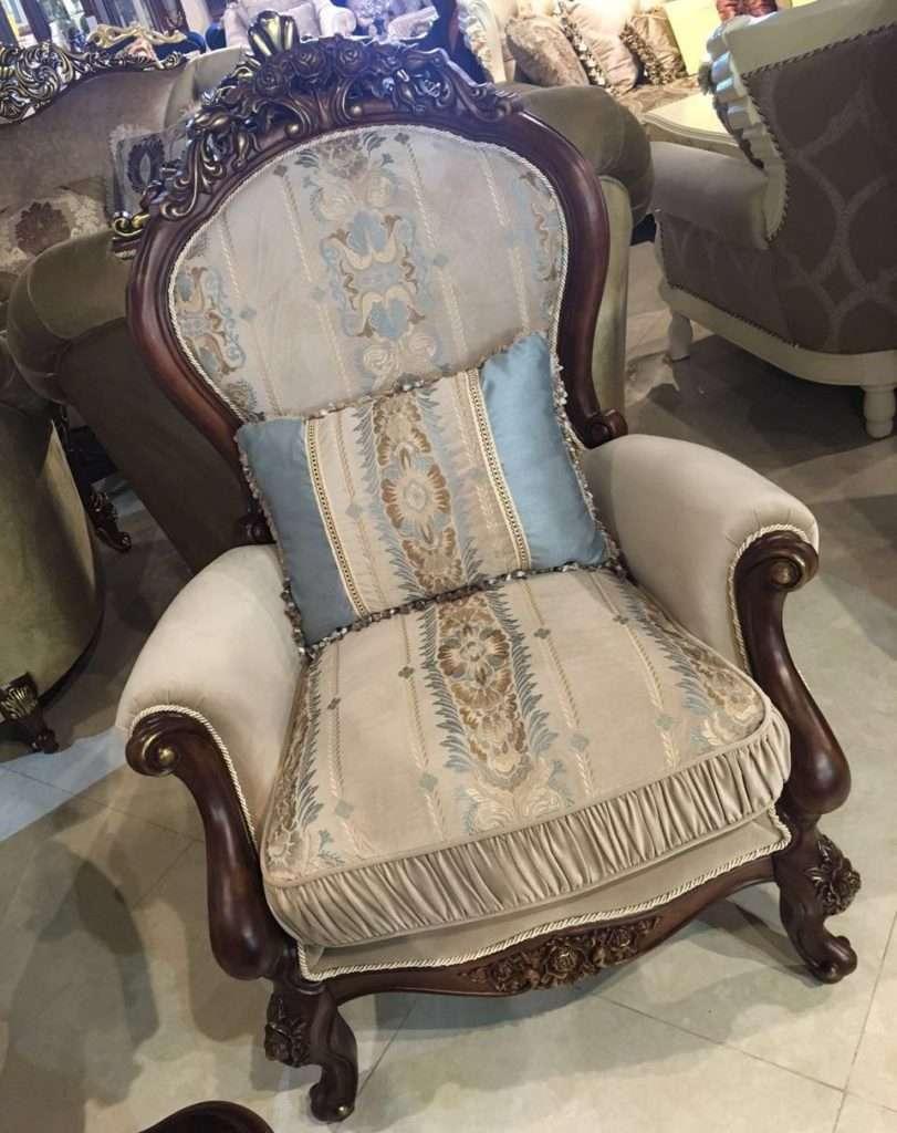 кресло классическое с высокой спинкой Айвенго