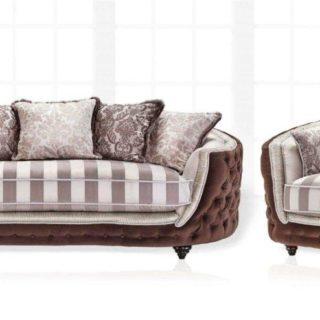 Прямой диван Aleksander со спальным местом