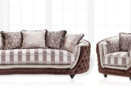 Купить прямой диван Aleksander со спальным местом от Vito Palazzo.