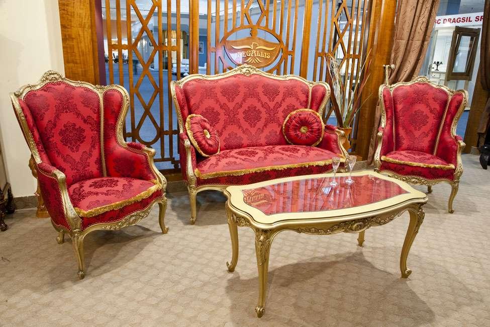 Мягкая мебель в стиле ампир, Амадеус